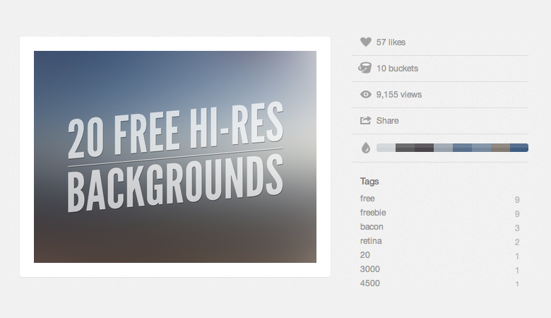 http://dribbble.com/shots/973984-20-Free-Hi-Res-Backgrounds