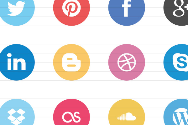 Super cool minimalist flat icons