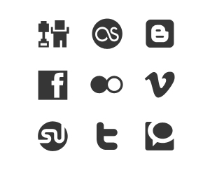 Helveticons - social media icons